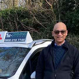 Driving Instructor: Dave Singh