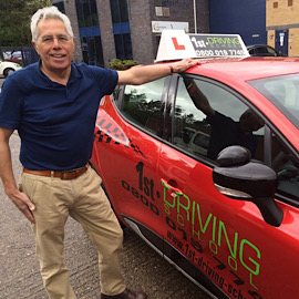 Driving Instructor: Geoff Crowe