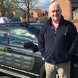 Driving Instructor: John Cooke