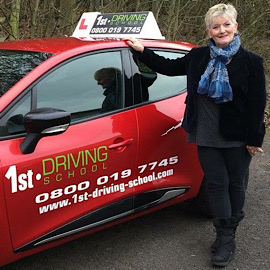 Driving Instructor: Rita Allford