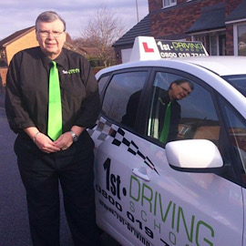 Driving Instructor: Roger Fleming